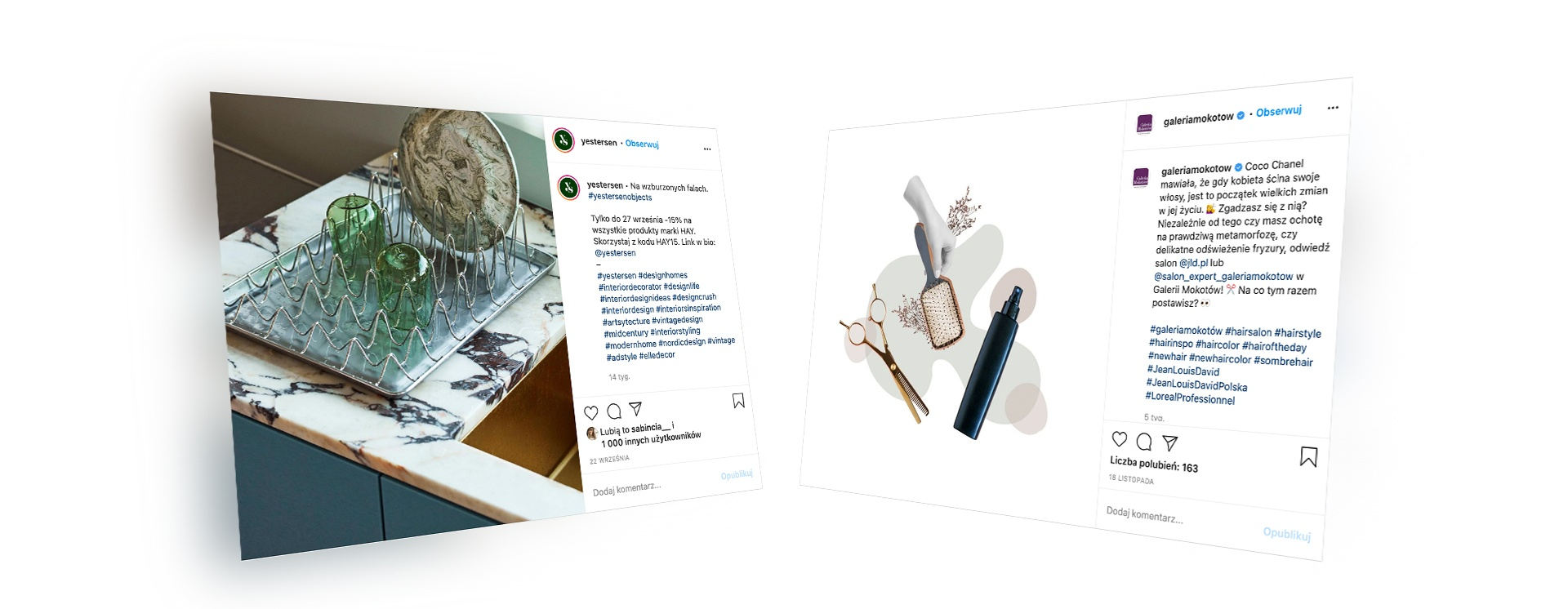 Atrakcyjne posty na Instagramie