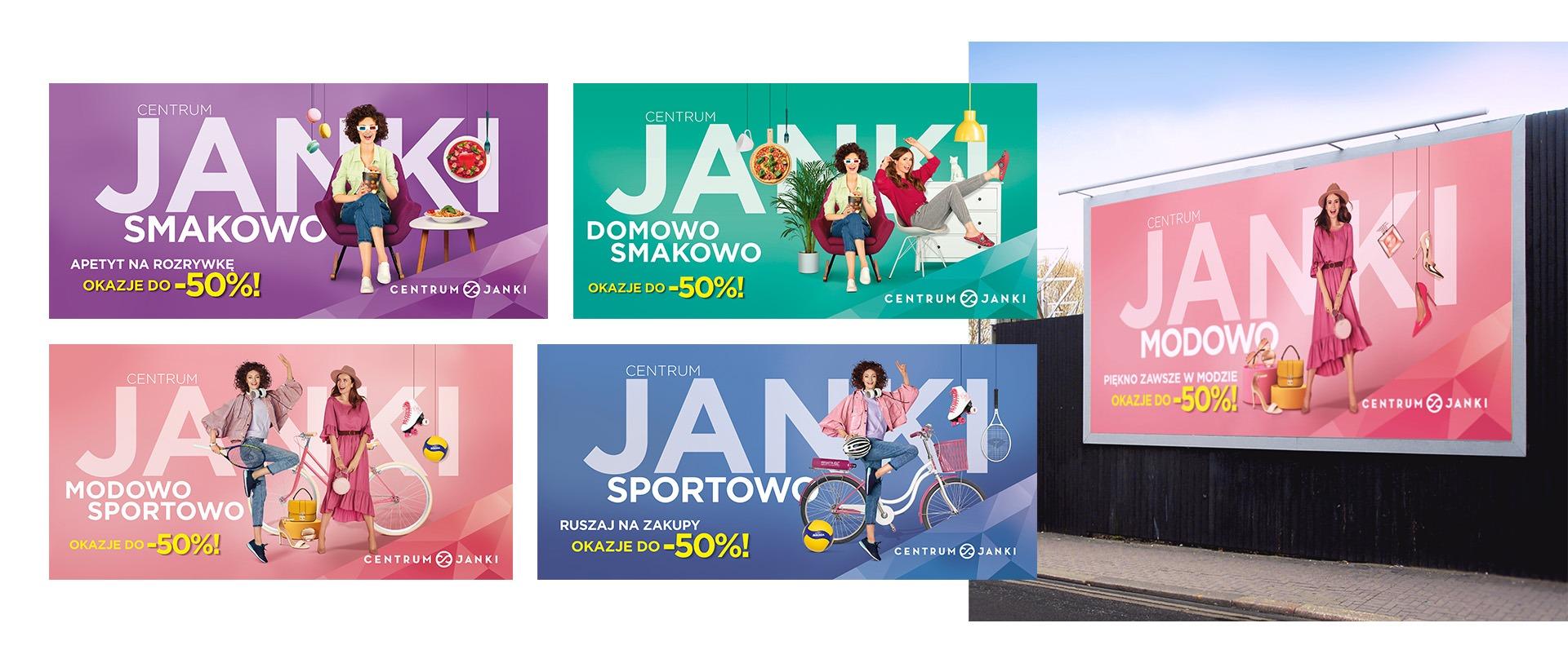 kampania wizerunkowa Centrum Janki