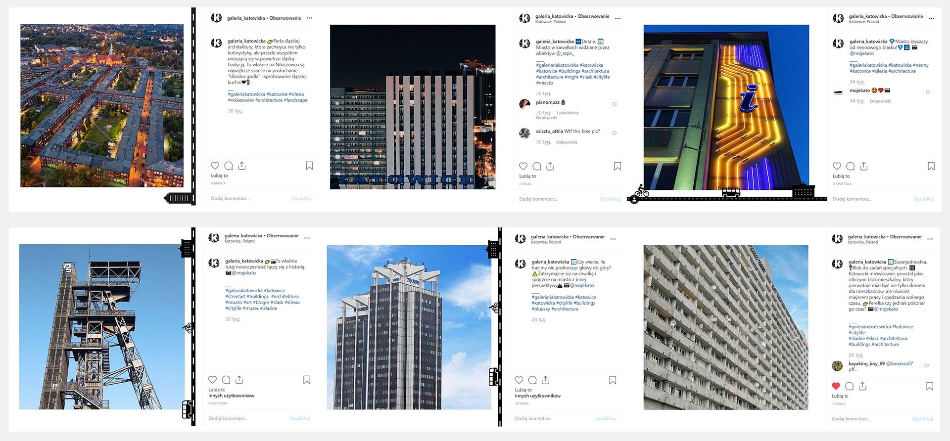 Katowice content social media