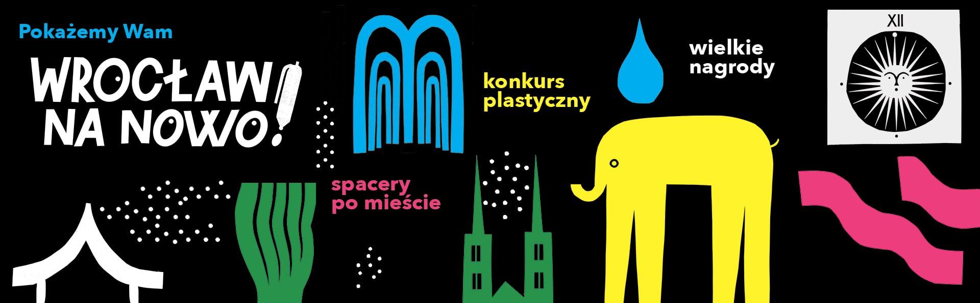 plakat Wrocław na nowo