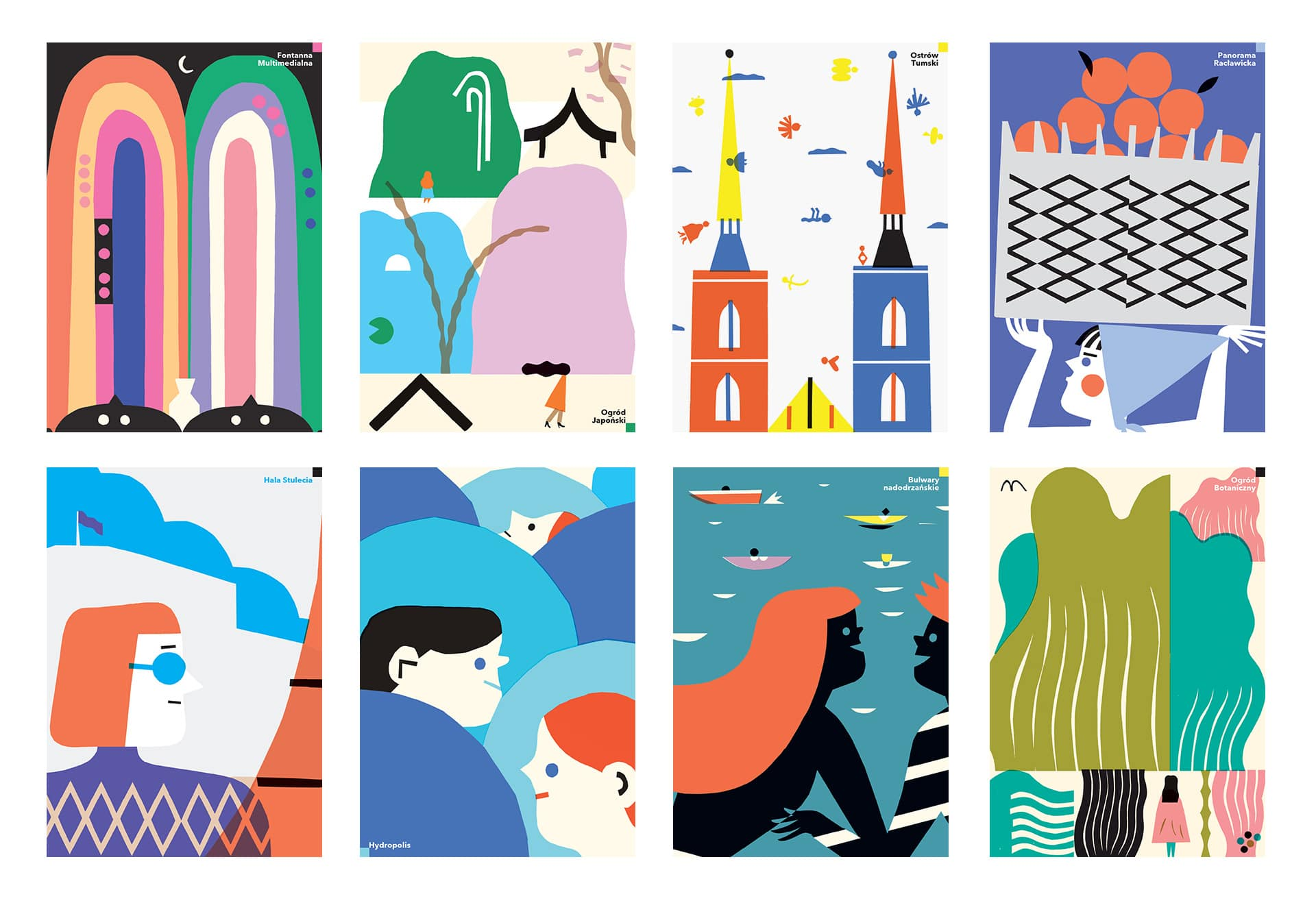 plakaty Pawła Mildnera
